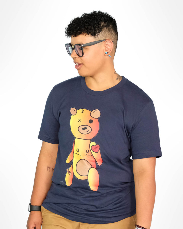 Trans Teddy Bear Navy