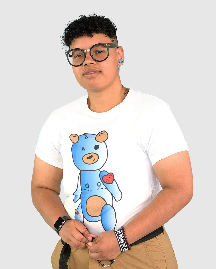 Trans Teddy T-Shirt White