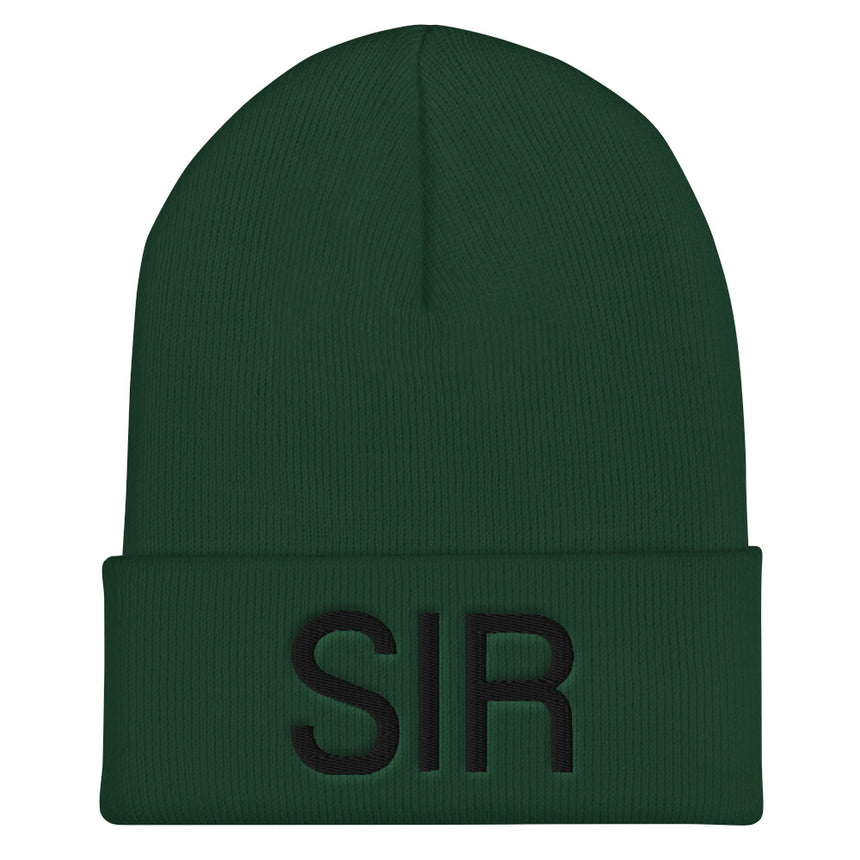 SIR Cuffed Beanies - 3 colors