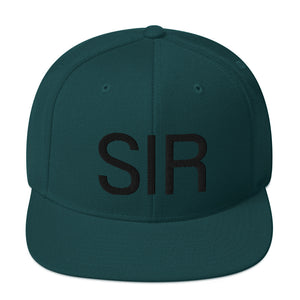 SIR Snapback - 3 colors