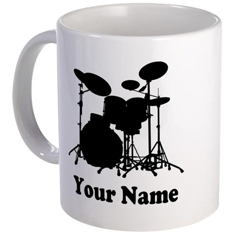 Personalized Drums | Coffee Mug
