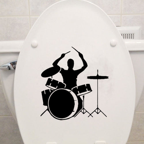 Drummer | Toilet Decal