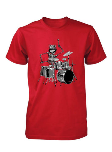 Skeleton Drummer | Men's T-Shirt