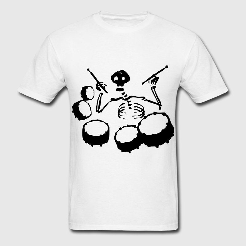 Skeleton Tenor Drummer | Men's T-Shirt