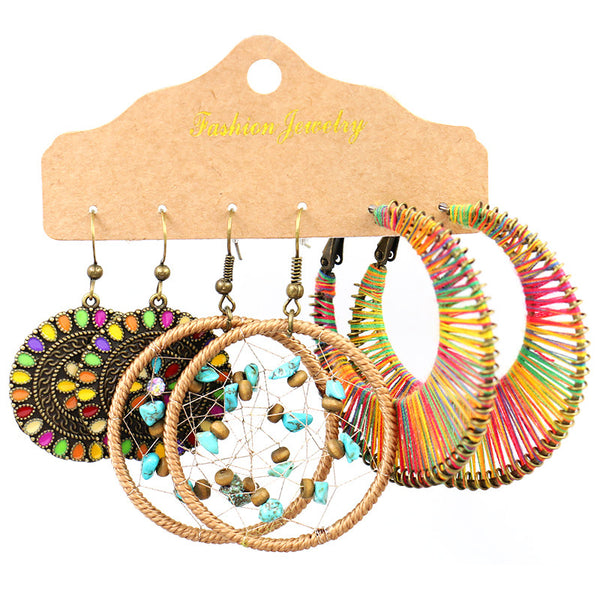 Retro Earings Set A