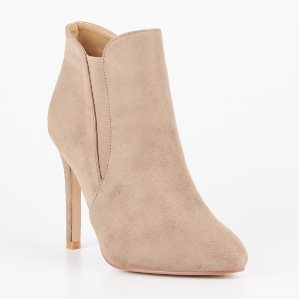 Miss Black - Belle6 Ankle Boot - Taupe