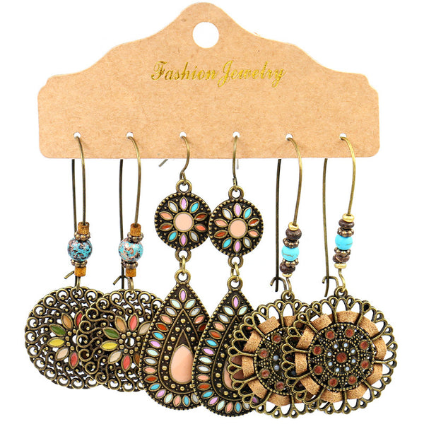 Retro Earings Set C