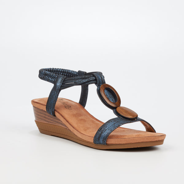 Lambodia - Butterfly Feet - Navy
