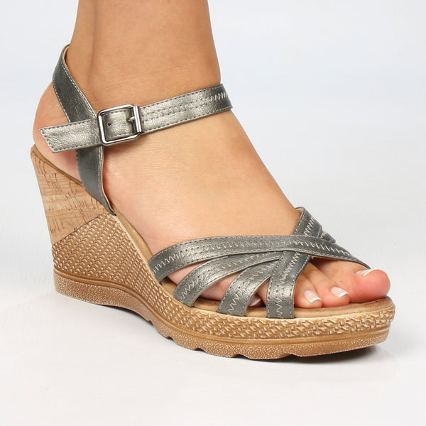Lori Wedge - Pewter