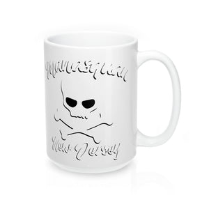 """Squan Pirate"" Mug 15oz"