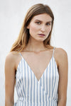 STASSI MAXI DRESS STRIPES