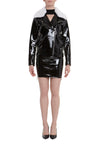 THEA PATENT LEATHER JACKET
