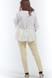 Willow Tie Back Blouse