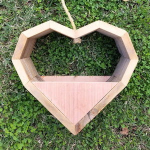Reclaimed Wood Heart $30.00
