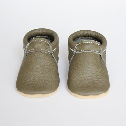 Olive Booties - Size 0 only