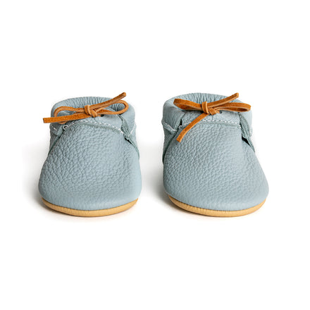 Ice Blue Loafers