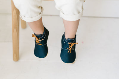 Navy Blue Sneakers