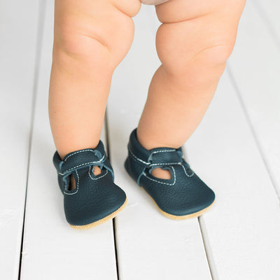 Navy T-Strap Mary Janes