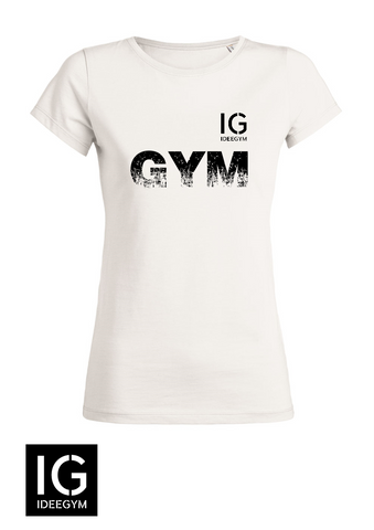 "Tee-Shirt HOMME blanc ""GYM"""