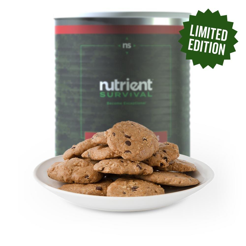 Nutrient Survival Holiday Cookie Tin