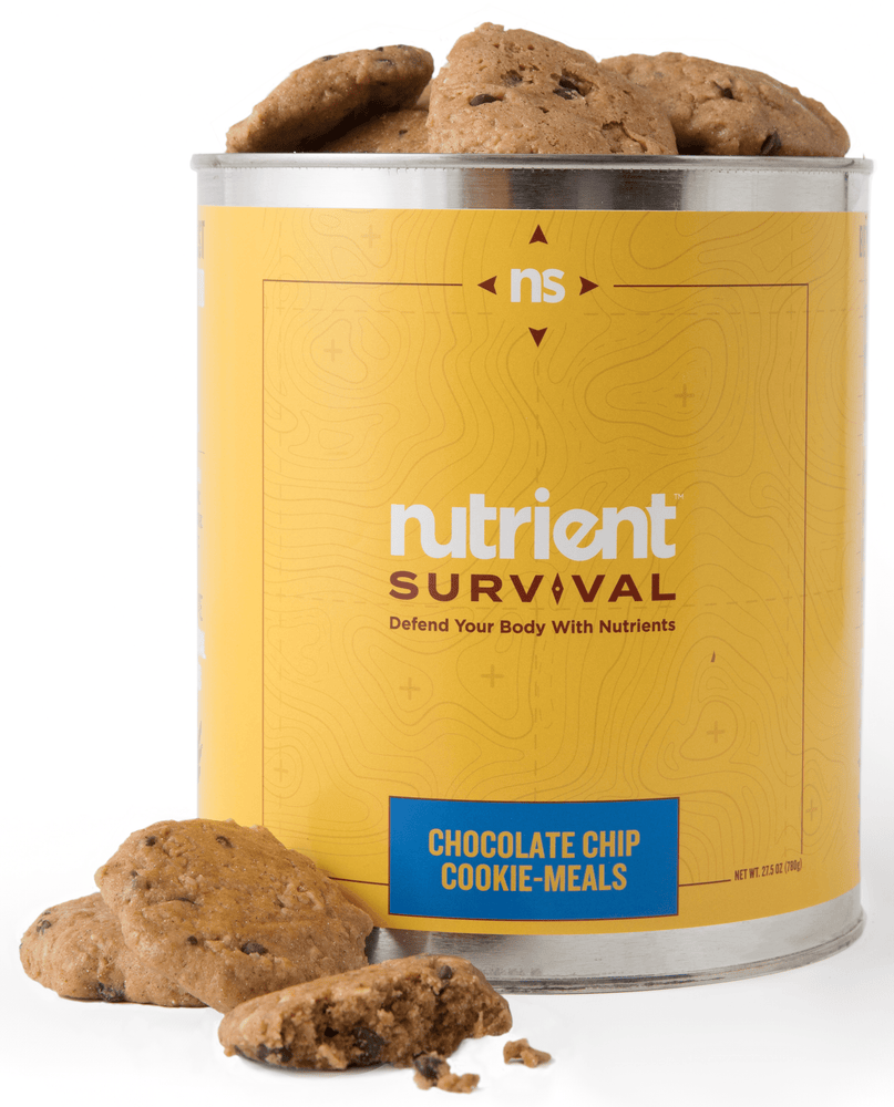 Nutrient Survival Chocolate Chip Cookie-Meals