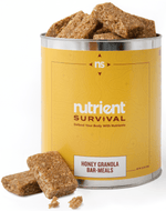 Nutrient Survival Honey Granola Bars-Meals