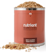Nutrient survival Maple Almond Grain Crunch