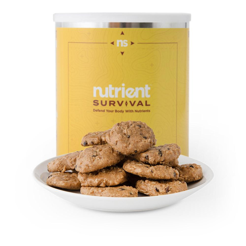 Nutrient Survival Oatmeal Raisin Cookie-Meals