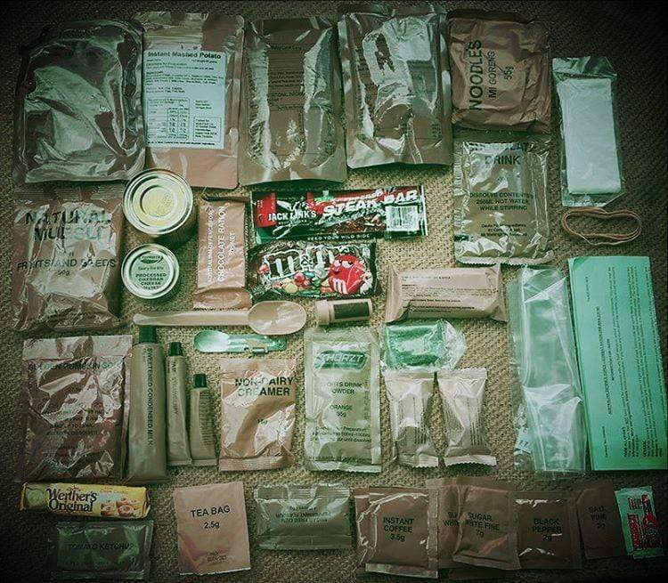Australia CR1M Armed Forces 24 hour combat ration - Foreign MRE ForeignMRE buy online meal ready to eat MREs international combat rations Foreign MREs and Ration Packs - combat rations meal ready to eat foreign MREs