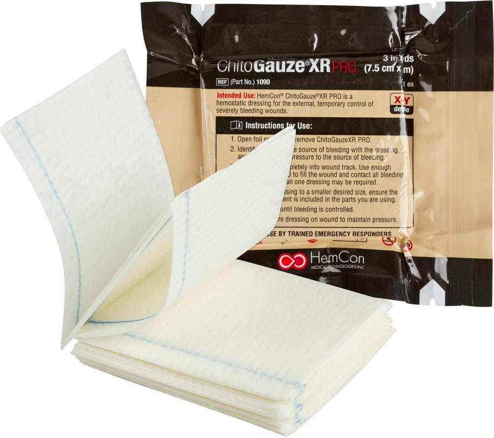 CHITOGAUZE XR PRO Hemostatic Battle Dressing
