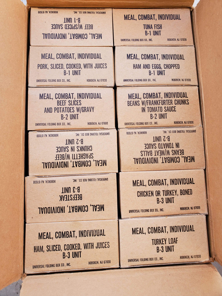 Vintage Meal Combat Individual Sealed New