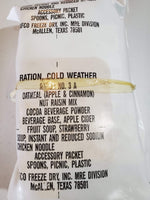 Vintage USA Ration Cold Weather