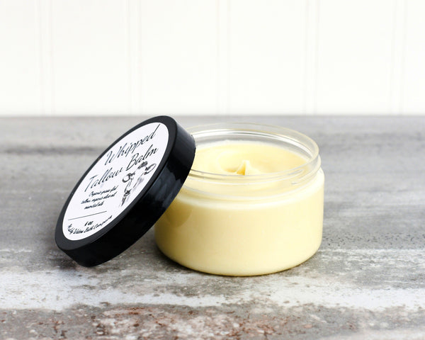 Whipped Tallow Balm (4 oz) - Natural Hand & Body Cream