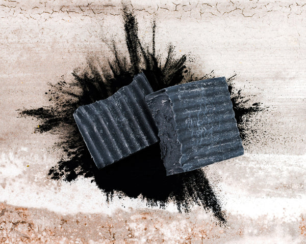 Activated Charcoal and Tallow Bar