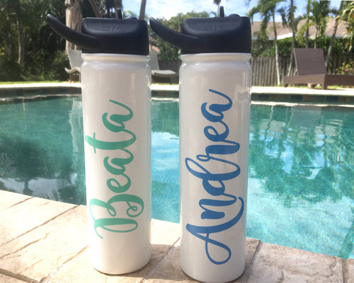 Personalized SIC Stainless Water Bottle 27oz