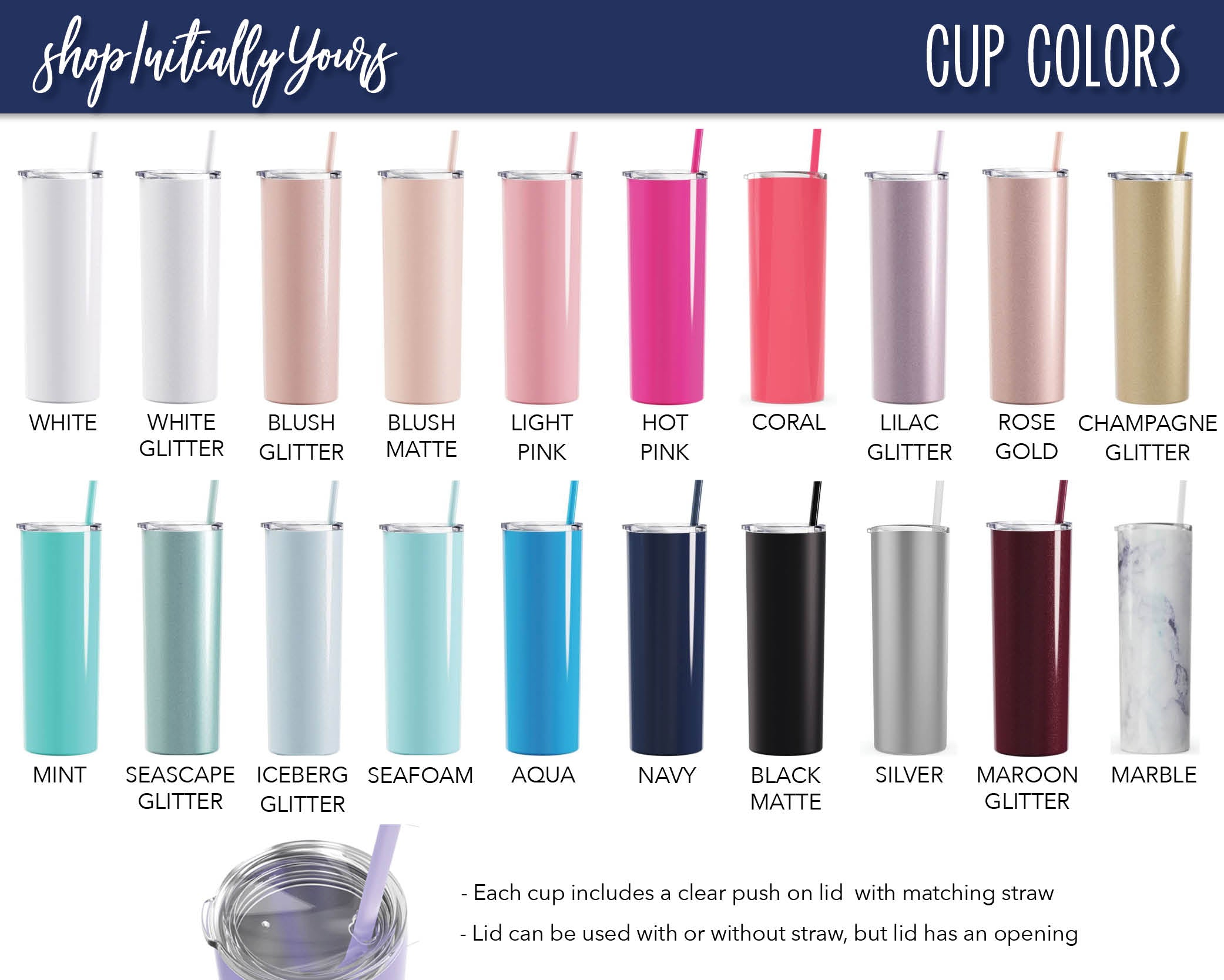 Bridal Party Skinny Stainless Steel Tumbler