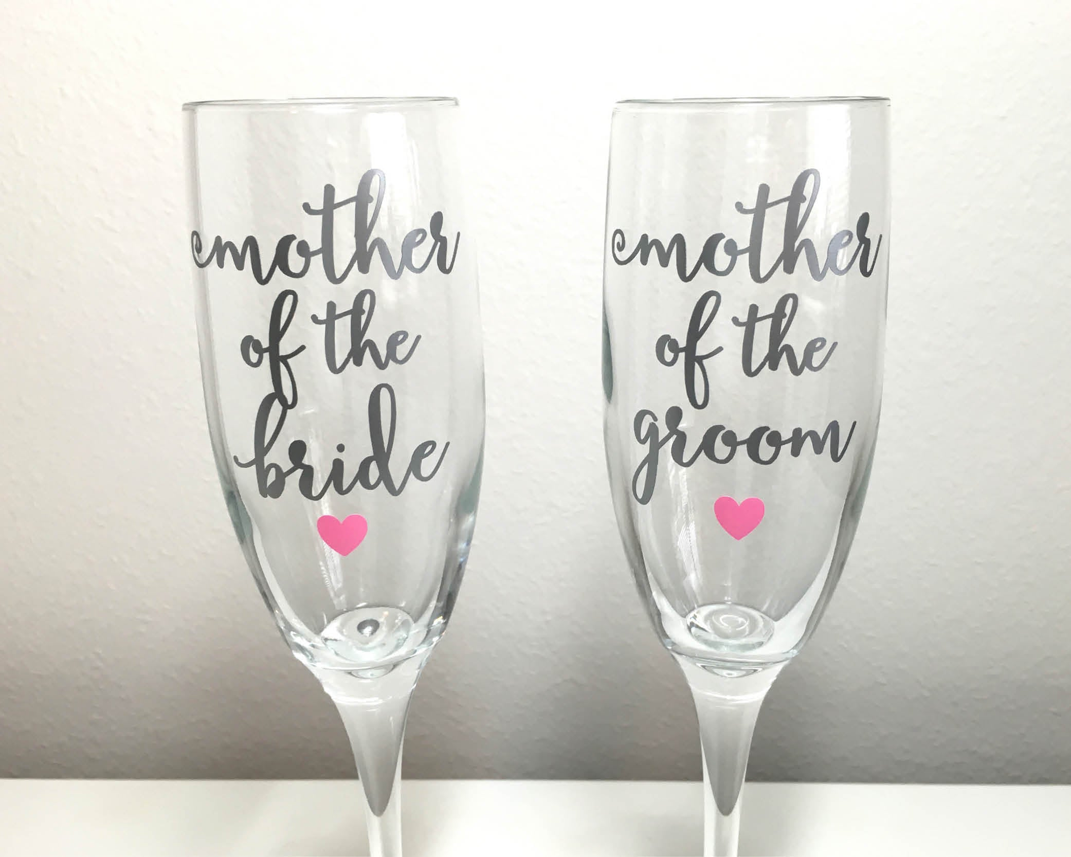 Mother Of The Groom Gift: Mother Of The Bride Or Groom Champagne Flute