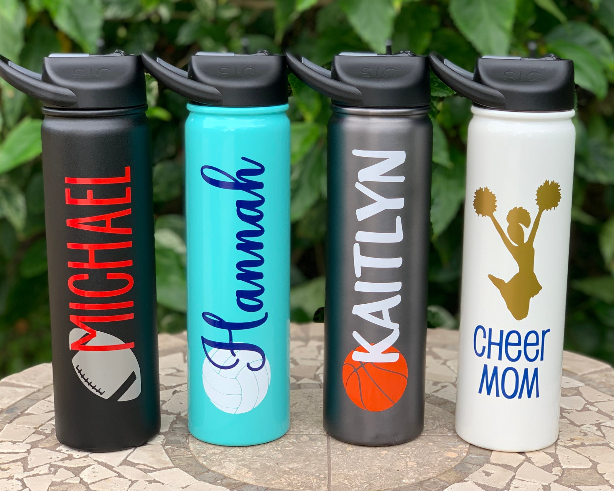 Personalized Sports SIC Stainless Water Bottle 27oz