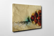 Gallery Wrap Artwork - A0014 : Print of Original Abstract on Canvas