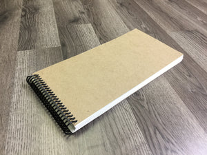 "Design Ideation QUICK SKETCH Sketchbook : SIMPLE SKETCH COVER. Multi-media Paper Book. (6"" x 12"")"