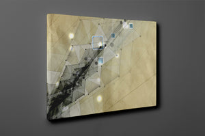 Gallery Wrap Artwork - A0026 : Print of Original Abstract on Canvas