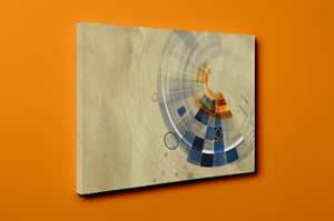 Gallery Wrap Artwork - C0036 : Print of Original Abstract on Canvas