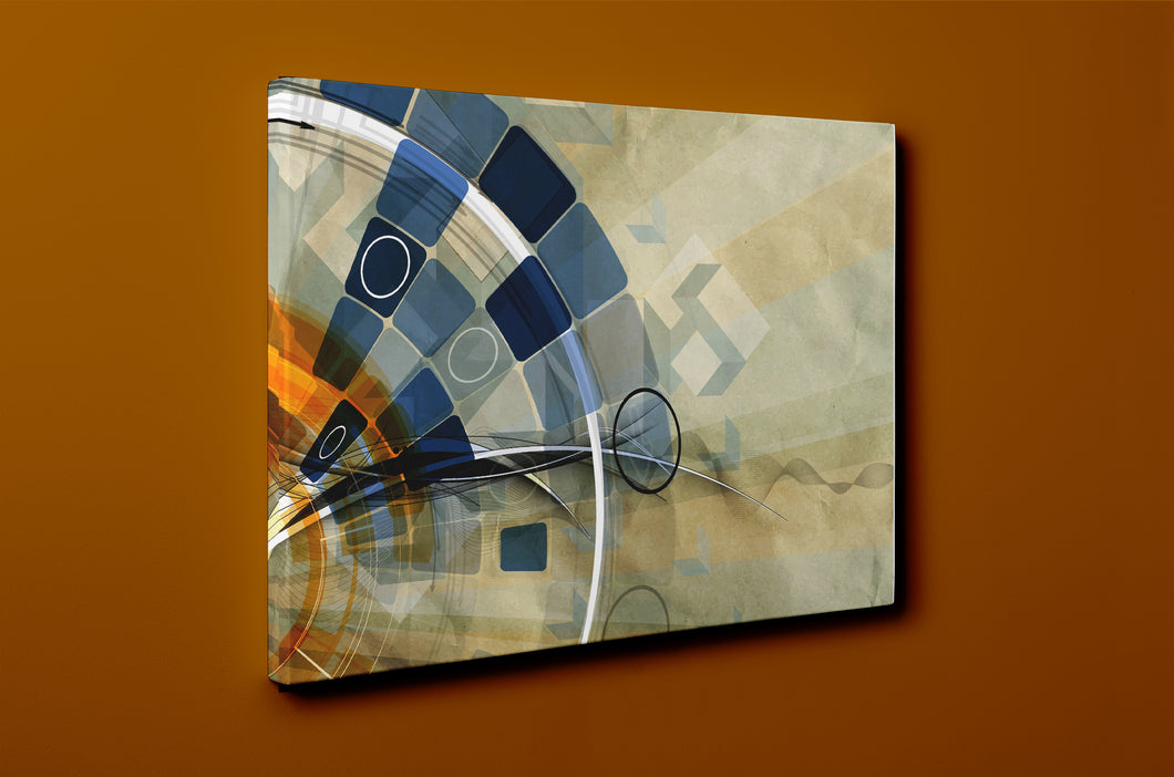 Gallery Wrap Artwork - B0050 : Print of Original Abstract on Canvas