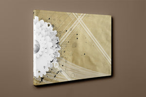 Gallery Wrap Artwork - D0051 : Print of Original Abstract on Canvas