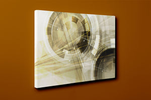Gallery Wrap Artwork - A0020 : Print of Original Abstract on Canvas
