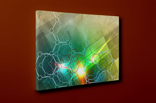 Gallery Wrap Artwork - A0061 : Print of Original Abstract on Canvas