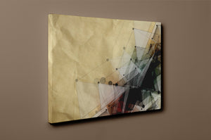 Gallery Wrap Artwork - A0063 : Print of Original Abstract on Canvas