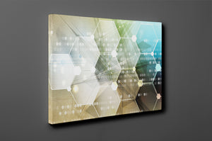 Gallery Wrap Artwork - A0021 : Print of Original Abstract on Canvas