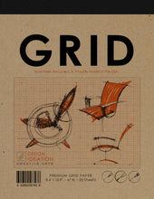 Pad: Premium Grid Paper Creative Project Pad for Pencil, Ink, and Marker. Great for Art, Design and Education.