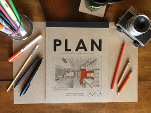 Pad: Premium Grid Paper Project Planning Pad for Pencil, Ink, and Marker. Great for Art, Design and Education.
